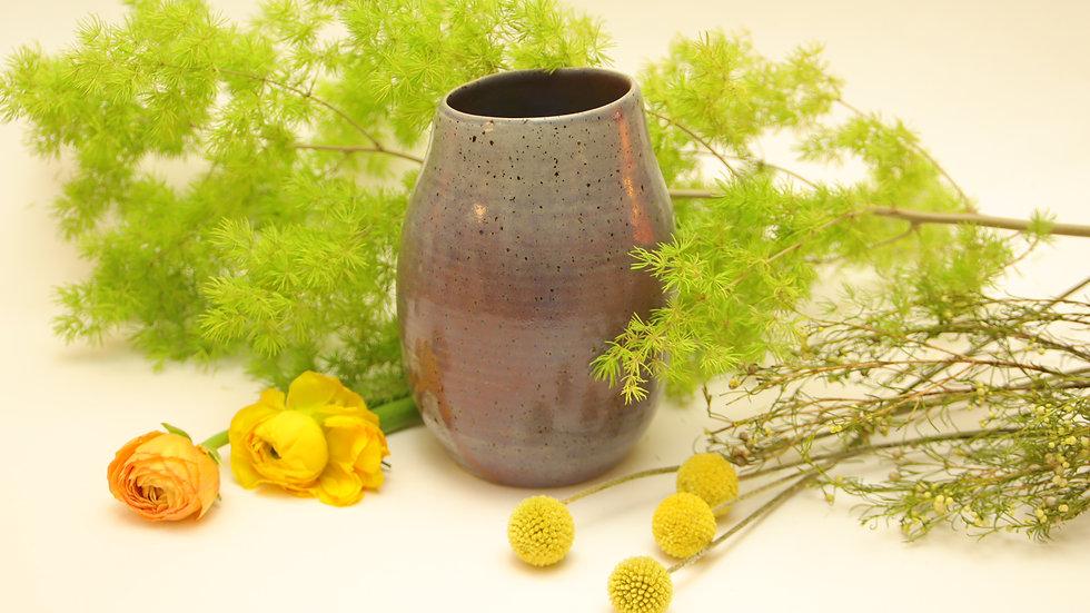 """Vase """"Lavendel im Moos"""""""