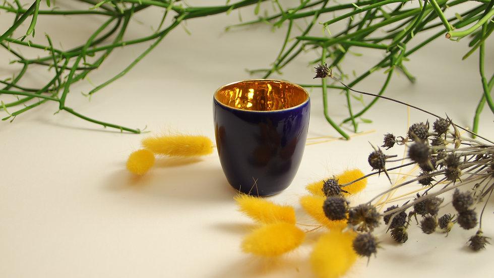 "Espresso Becher ""Shiny Gold"" Tiefsee"