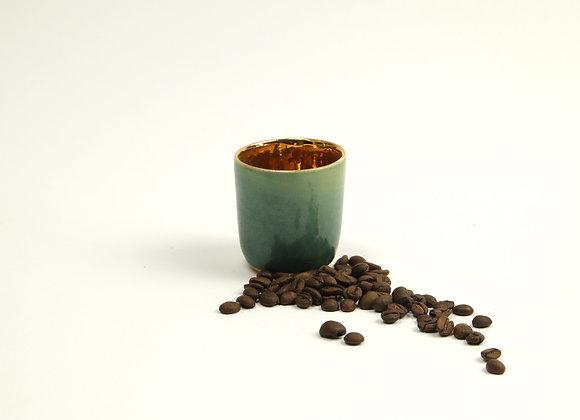 Espressobecher Shiny Gold