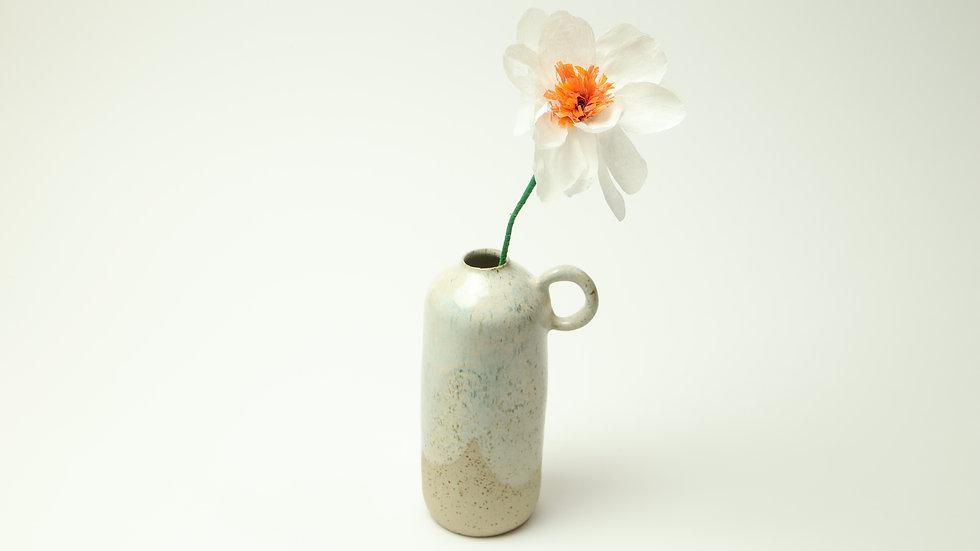 "Vase mit Henkel ""Rosa Marmor"""