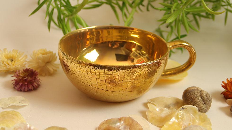 """Tassen """"Shiny vs Vintage Gold"""""""