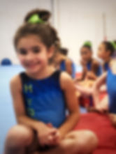 team gymnastics for young girls