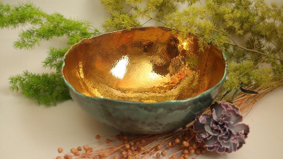 "Dekorative Schale ""Vintage Gold"""