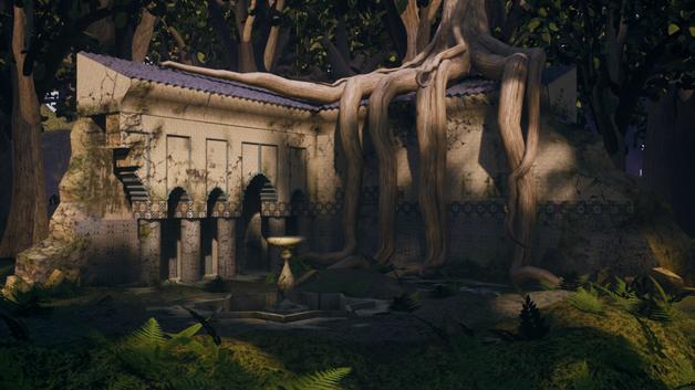 Overgrown Temple 2