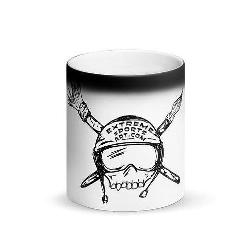 ESA Matte Black Magic Mug