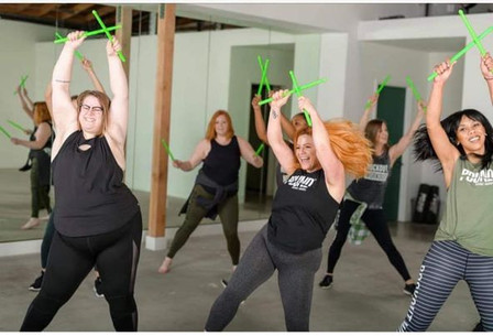 New Pound it out! Exercise class