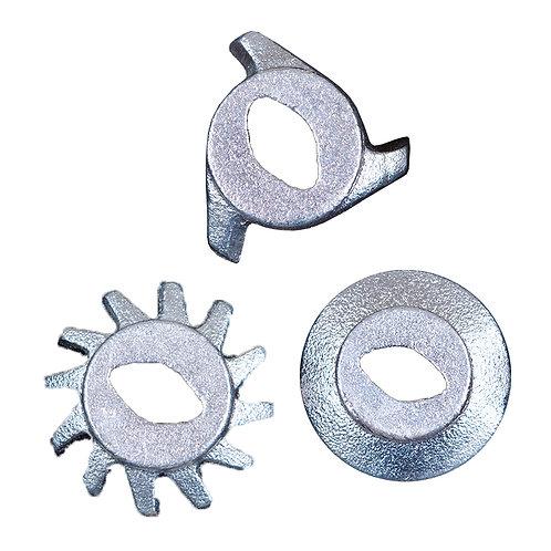 Jogo De Faca Do Picador 2  - Faca 12 Dentes, Faca Fechada e Faca  3 Dentes
