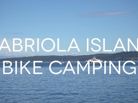 Bike Camping on Gabriola Island
