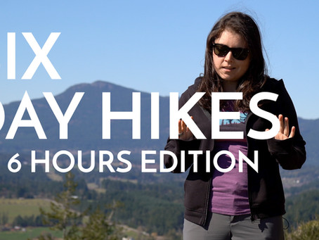 6 Day Hikes on Vancouver Island (2 - 6 Hours Edition)