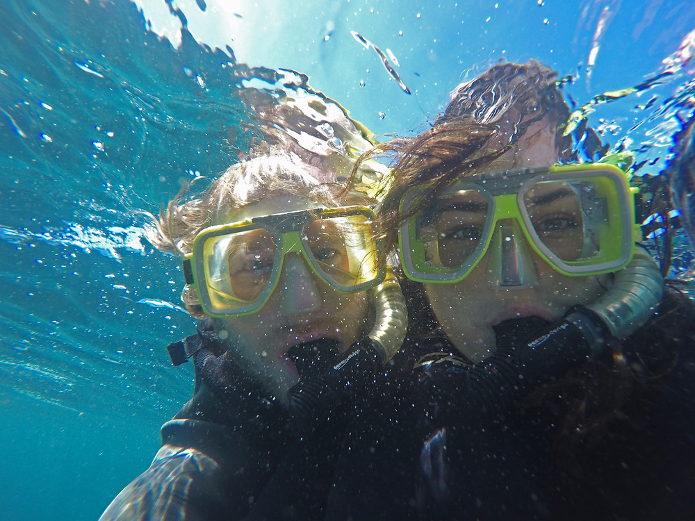 Snorkelling in Byron Bay