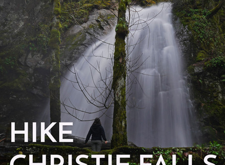 Christie Falls - Vancouver Island Hike
