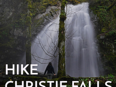 Christie Falls - Vancouver Island Hike