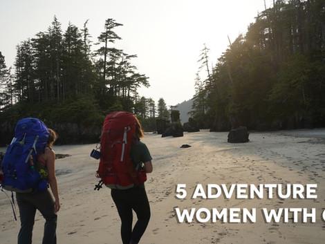 5 Adventurous Women with Grit - Volume 3