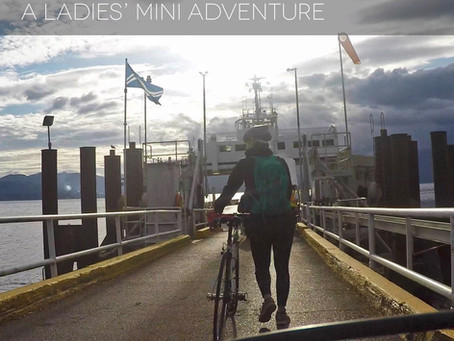 Ladies Be Charcutering - A Salt Spring Island Bike Trip