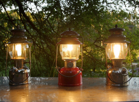 How to Light a Coleman Lantern, and Other Coleman Tips from my Dad.