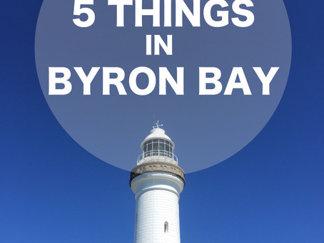 5 Things in Byron Bay