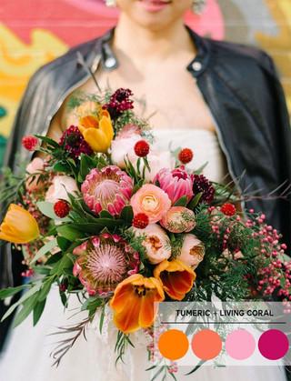 Nuestro Wedding Report del Color Pantone Primavera/Verano 2019