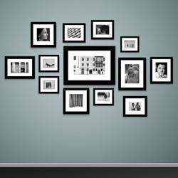Balck & White Image Wall