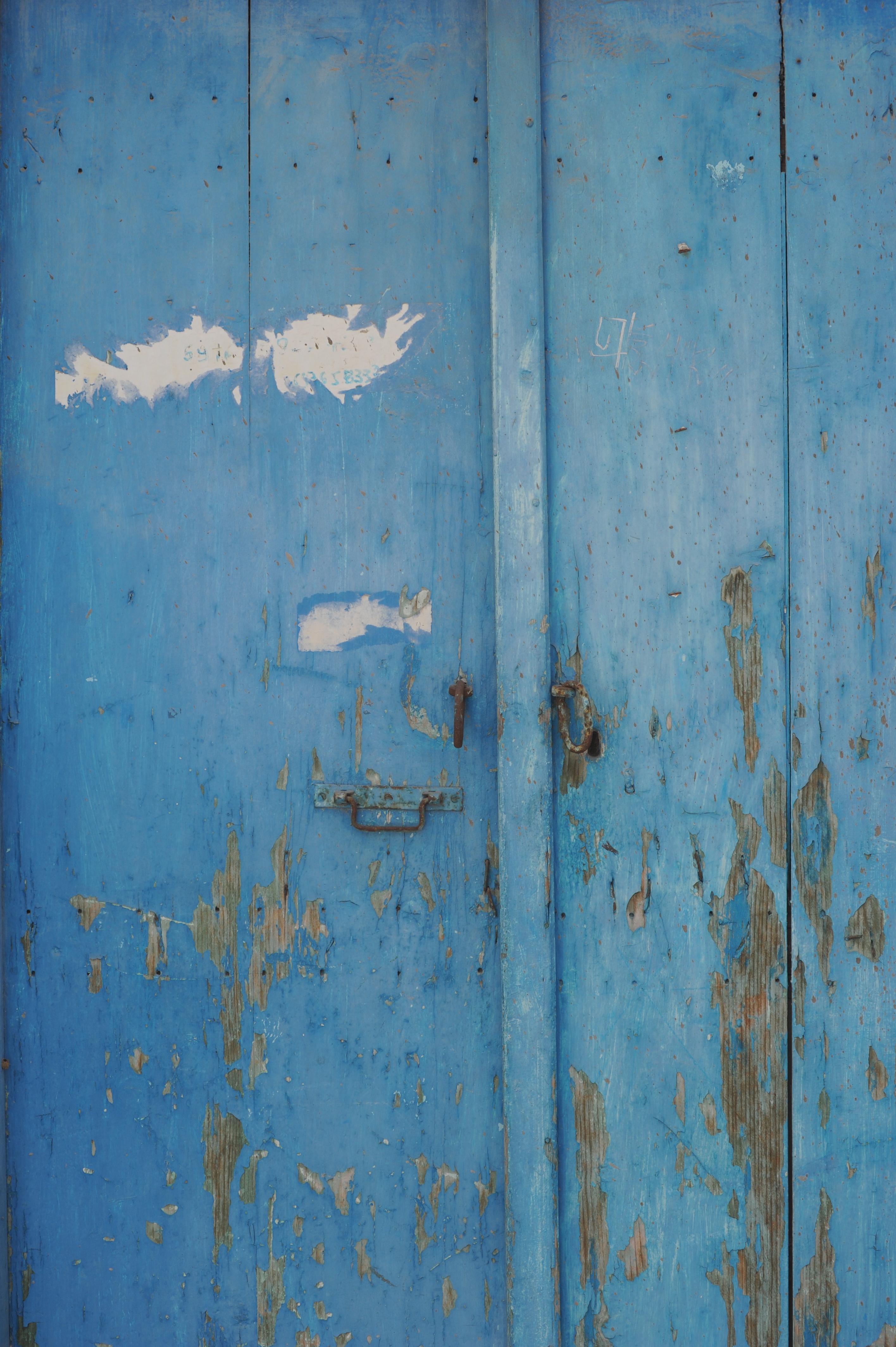 Blue Door - Greece
