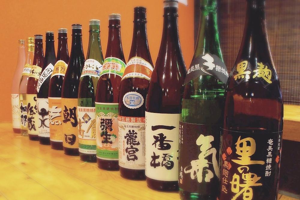 健康&長寿酒「黒糖焼酎」