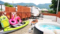奄美,奄美大島,瀬戸内町,ゲストハウス,嘉鉄,トレーラーハウス,宿泊施設,グランピング,ランチ,リゾネッチャヴィラ