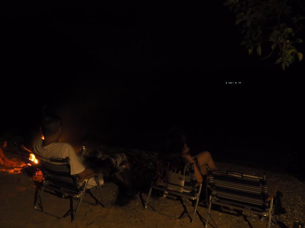 加計呂麻島のシークレットキャンプファイヤー