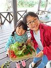 野菜収穫 | 奄美子供サマーキャンプ(ガサムンキャンプ) | 奄美大島 崎原ビーチ『海大将』