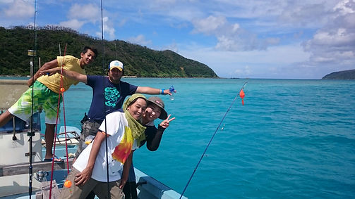 ①リーフフィッシング | 奄美大島 釣り体験・シュノーケリング・体験ダイビングステーション『サラサ』