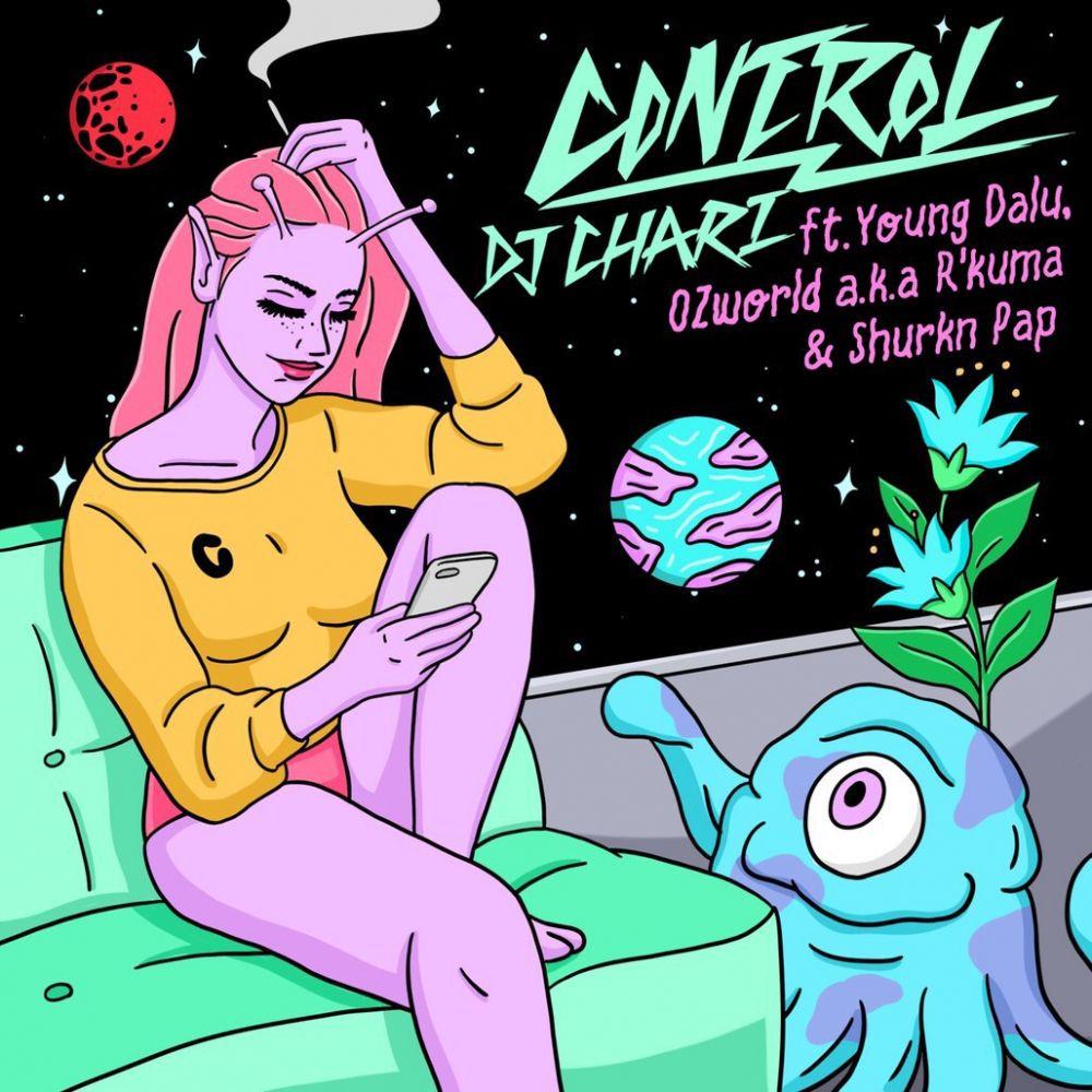 12月3日(月)配信開始!「CONTROL feat. Young Dalu, OZworld a.k.a. R'kuma & Shurkn Pap」