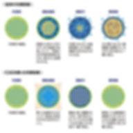従来の冷凍とCAS冷凍の比較