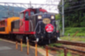 tour guide | Sagano Sightseeing Train