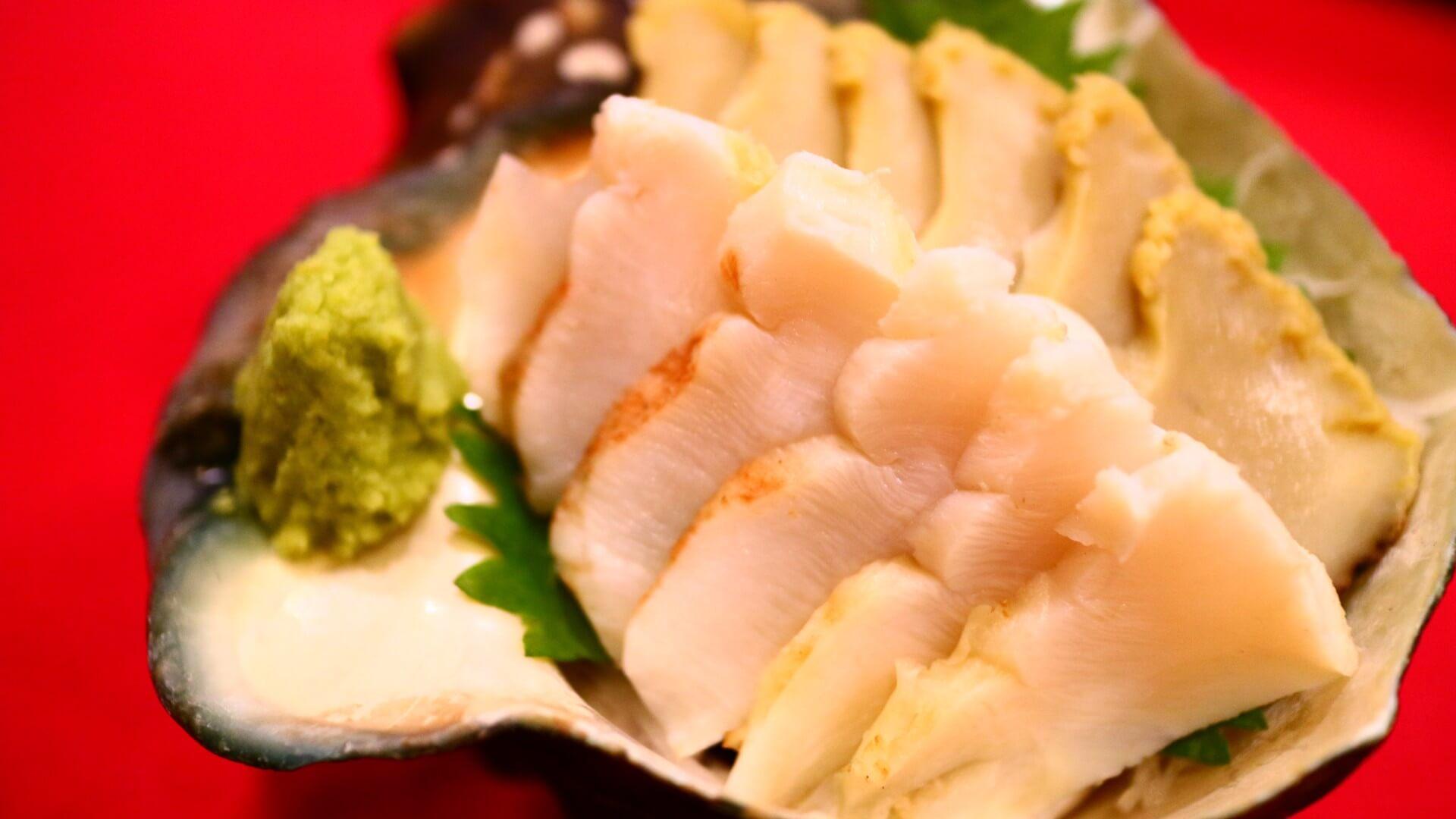 夜光貝の刺身orバター焼 刺身  | 奄美大島 名瀬【屋仁川】人気の島料