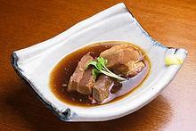 鹿児島県産豚の角煮