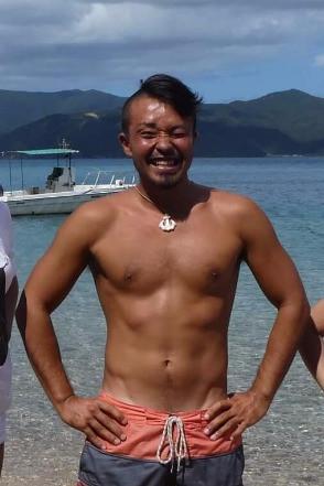 加計呂麻島キャンプツアー、ツアーガイドをしてくれた『FREE MOON』のIPPEI氏