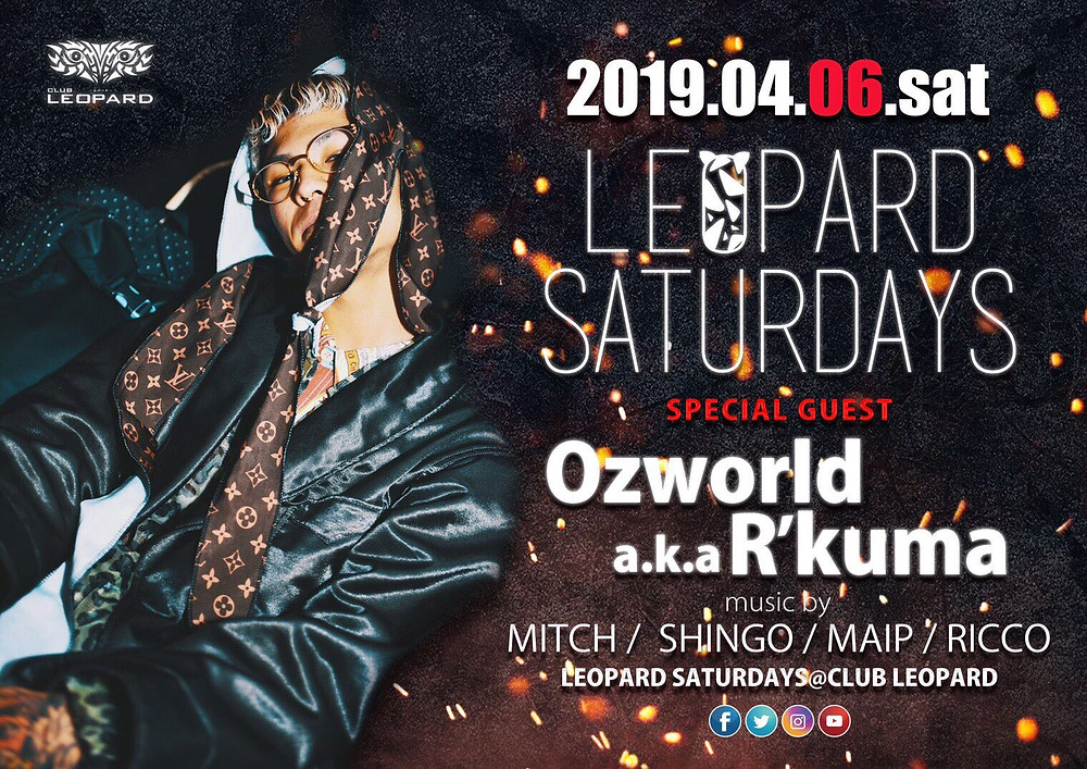 LEOPARD SATURDAYS 2019.04.06(SAT) @CLUB LEOPARD