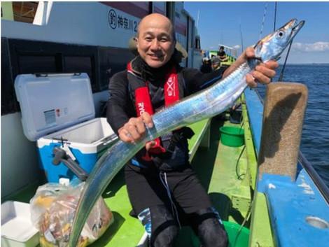 理事長「一郎釣り日誌」開始!