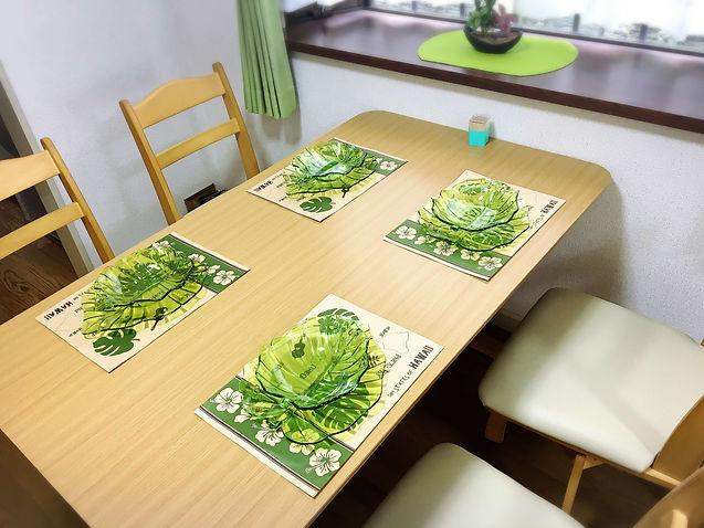 グリーンリーフでは家庭的な温かい食事を心がけています。