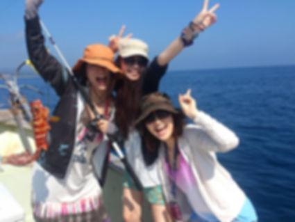 ②体験船釣りフィッシング | 奄美大島 釣り体験・シュノーケリング・体験ダイビングステーション『サラサ』