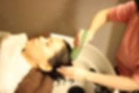 新潟市東区(新潟県)の美容室『bergamotto hair(ベルガモットヘア)』のヘッドスパ②頭皮をリセット&ミスト