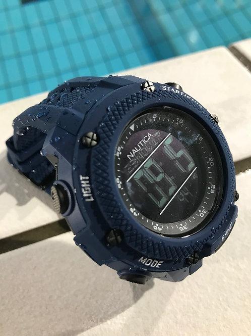 ノーティカ NMX15 クロノグラフ クオーツ 腕時計