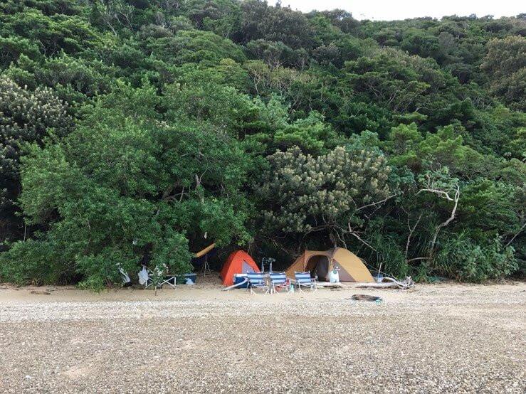 加計呂麻島のシークレットキャンプスポット