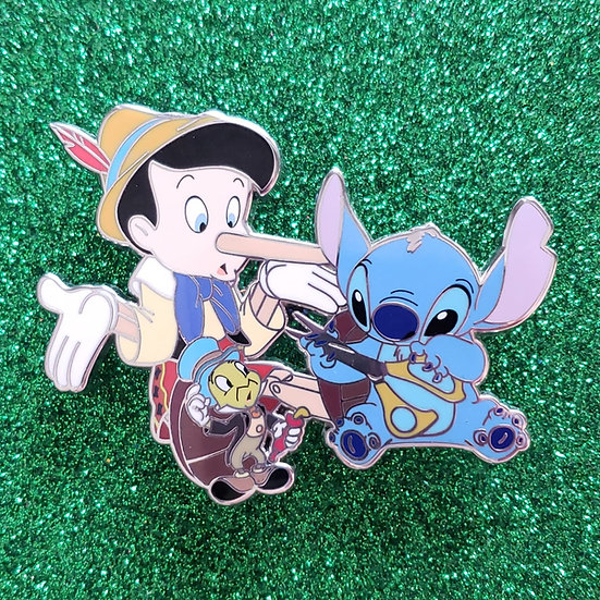 Leaving You In Stitches: Pinocchio