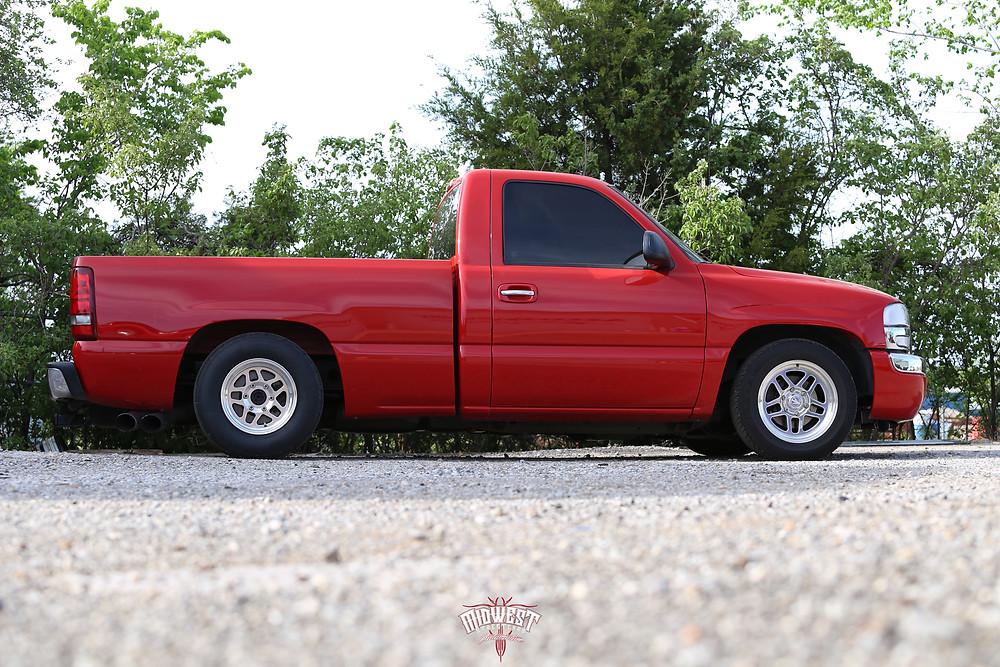 Bogart D10 wheels 15x10 rear 17x7 front