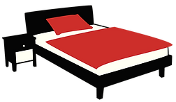 Bed Black Red.png