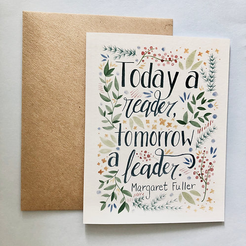Margaret Fuller Greeting Card