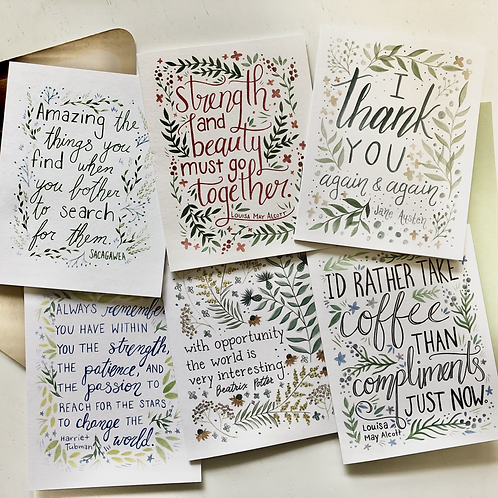 Be Inspired Every Day Card Set