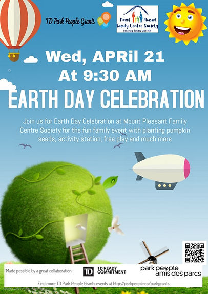 Earth Day Celebration - with QR Code edi