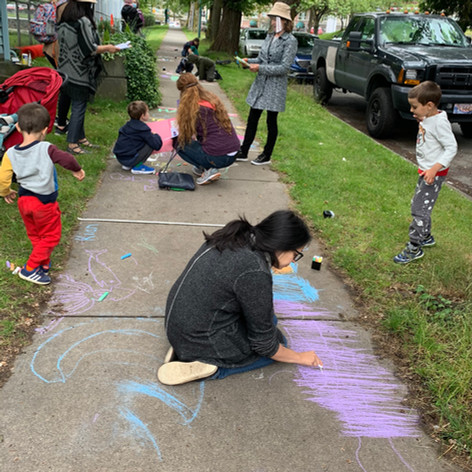 Chalk and Talk Event