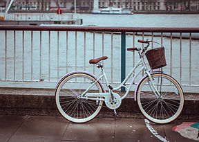 Bike by the river