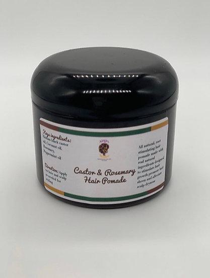 Castor & Rosemary hair pomade 6oz size